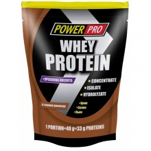 Протеин Power Pro Whey Protein 1 кг Шоколад